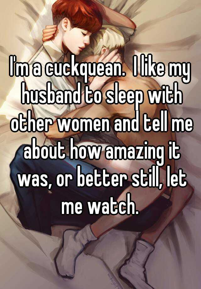 Sleep Stories App: I'm A Cuckquean. I Like My Husband To Sleep With Other