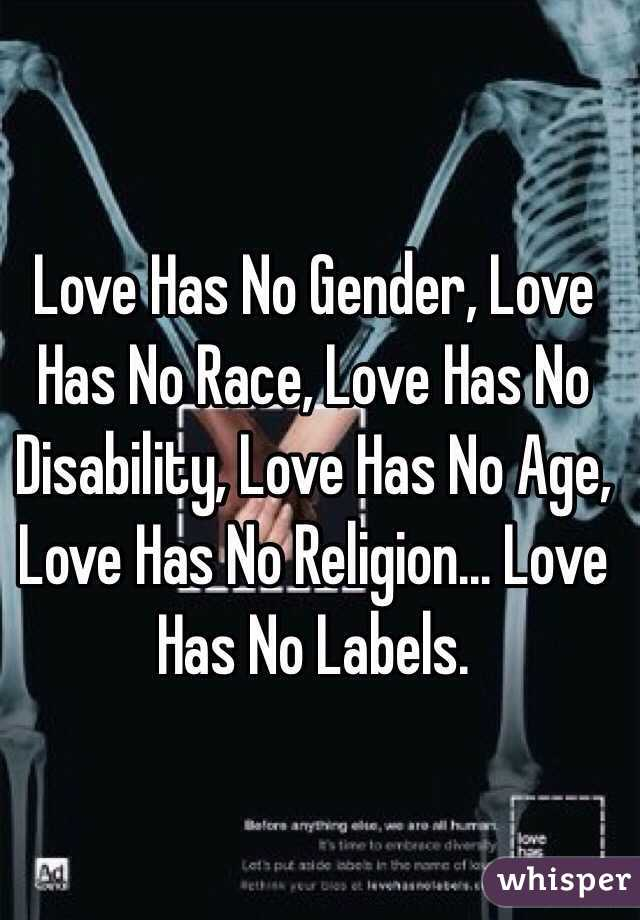 love has no gender Learn how you can take steps to end bias to end bias, we need to become  aware of it can you spot the bias within yourself this quick quiz might surprise  you.