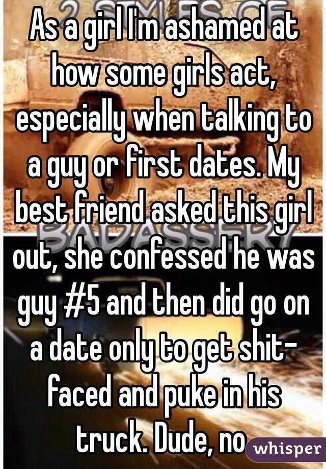 How to act when dating a friend