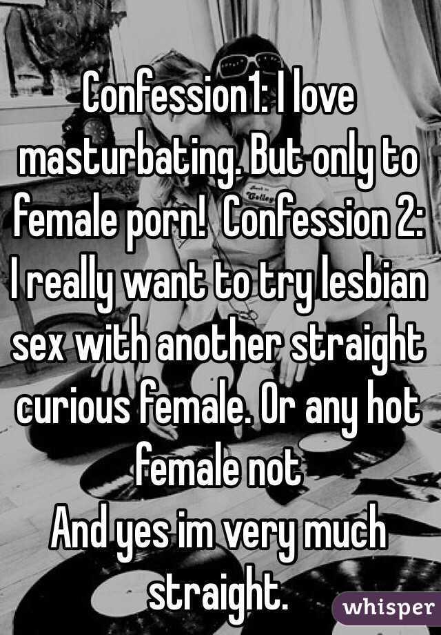 lesbian confession