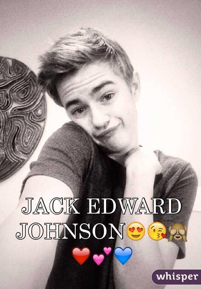 JACK EDWARD JOHNSON😍😘🙈❤  💕💙 - 0510a7e5eb523f540607e179caa886aee5806f-wm