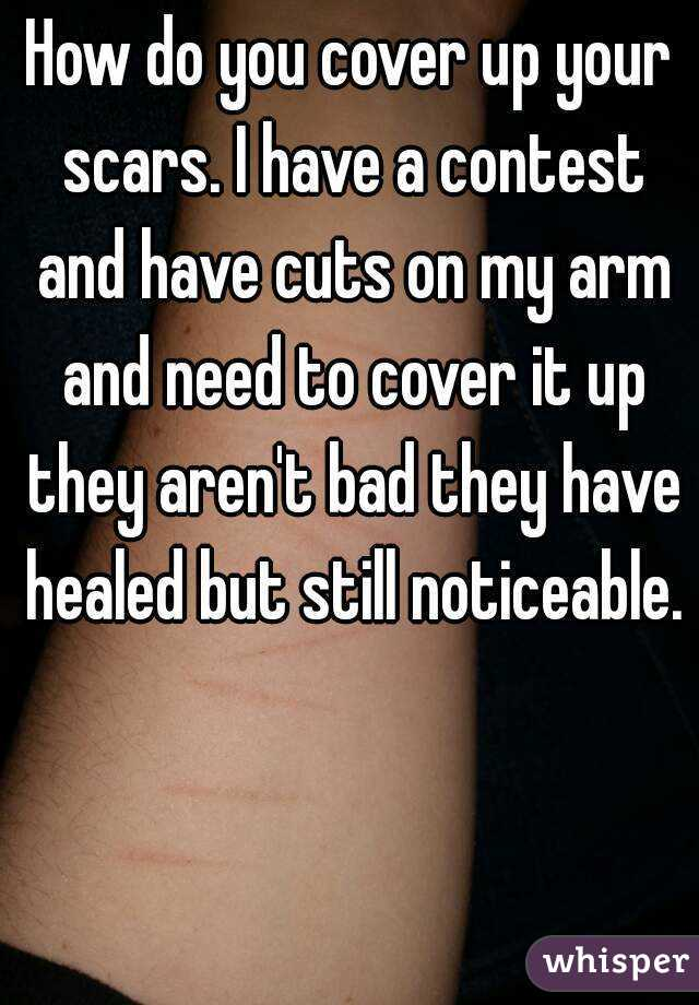 how to get rid of self harm scars overnight