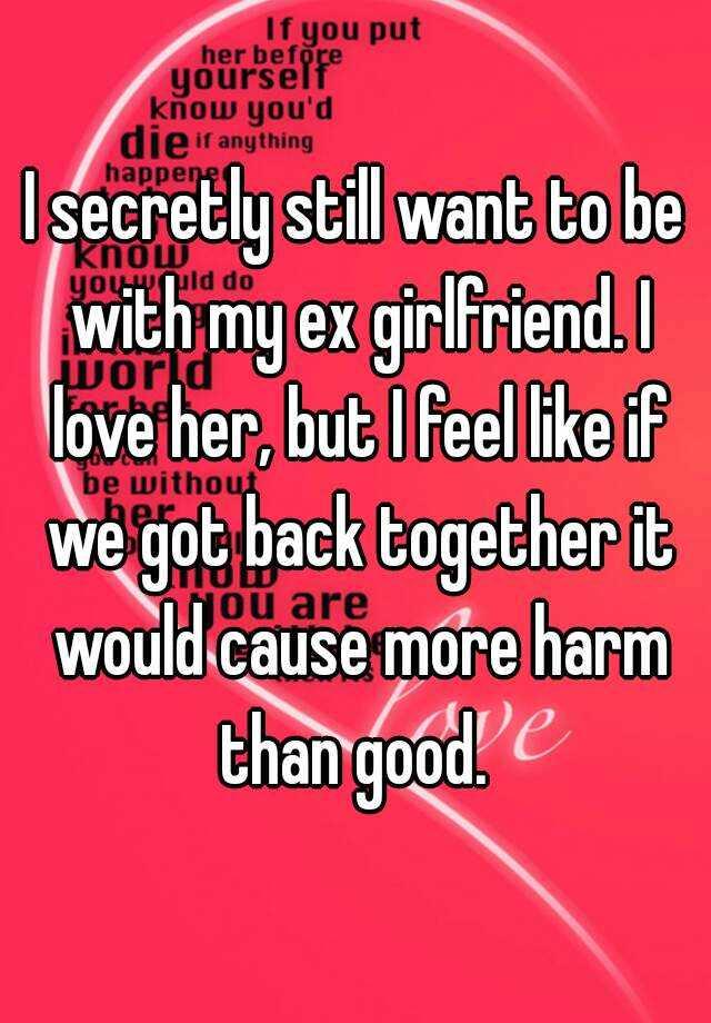 My ex girlfriend is online dating