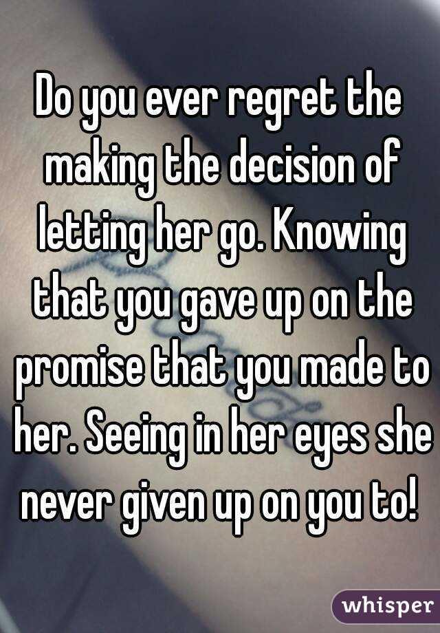Ever Regret do You Ever Regret The Making