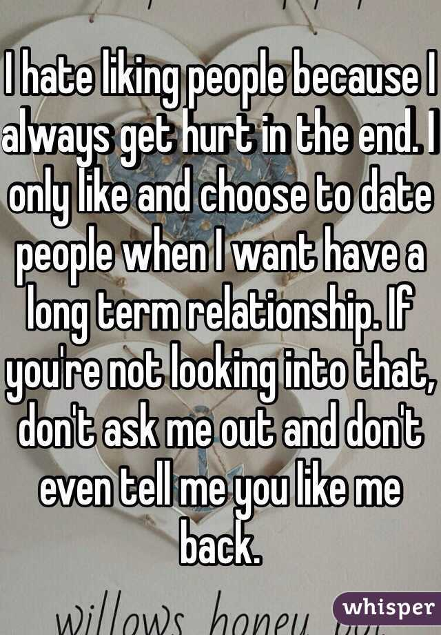 Dating someone that has been hurt