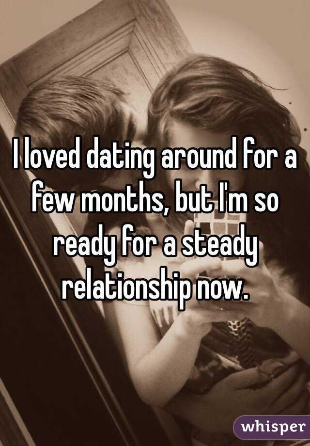 dating first few months