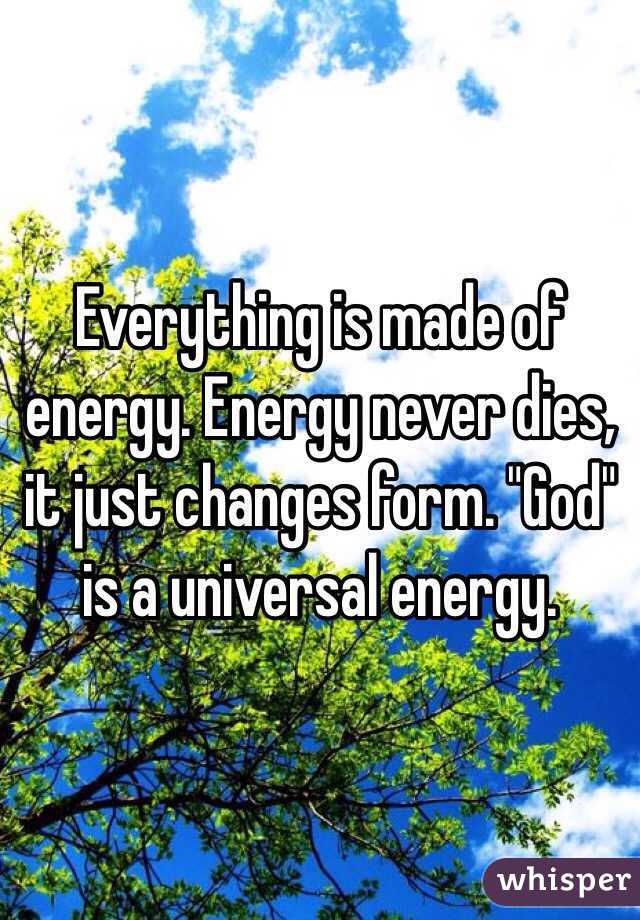 """Image result for """"God is a universal energy."""""""