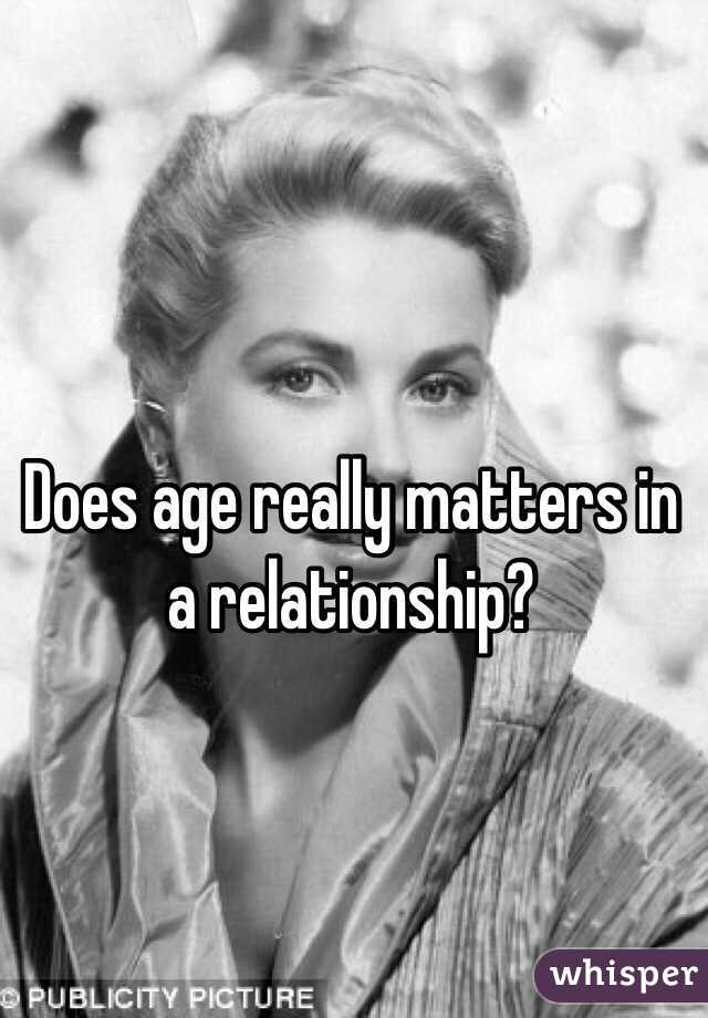 does age matters in love