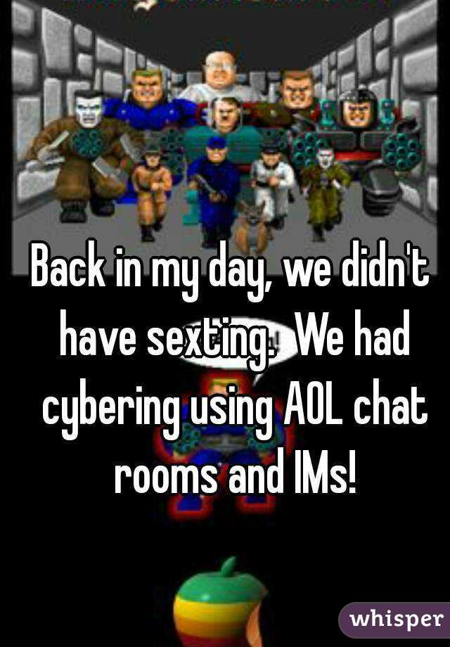 Chat rooms for sexting
