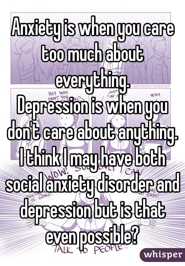 I think I have anxiety disorder?