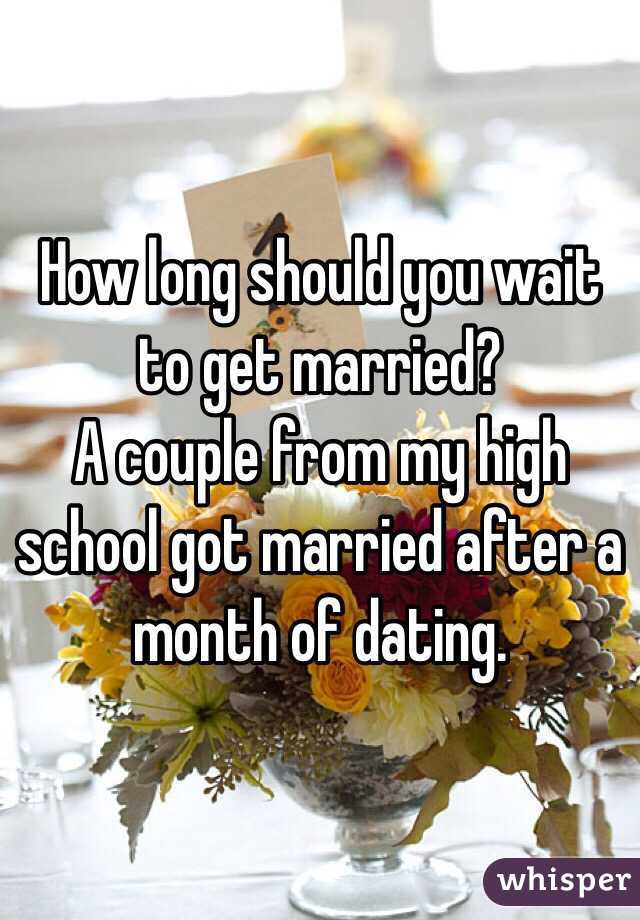 Apparatus fearlesss After Wait Long Get You Dating Should How Married To and