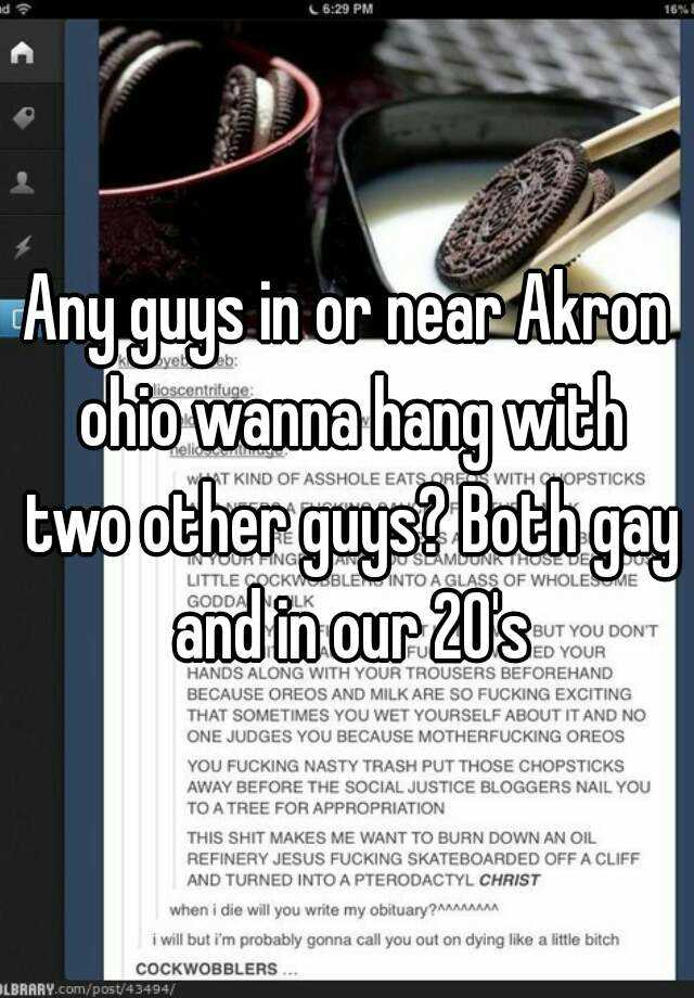 akron single gay men Meet and date a gay man, discuss with open-minded gays around you on getmale, the gay dating site in summit county, ohio.