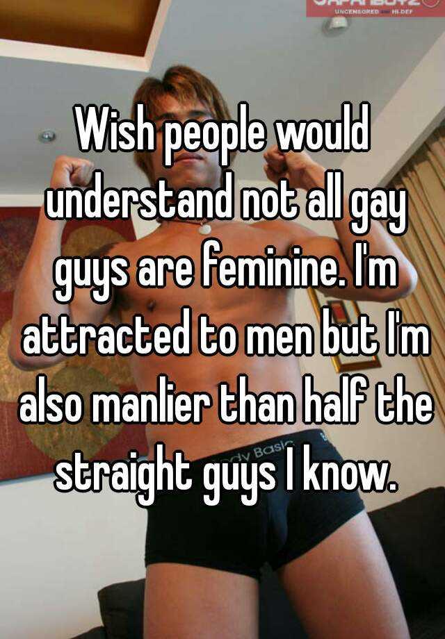 attract gay man