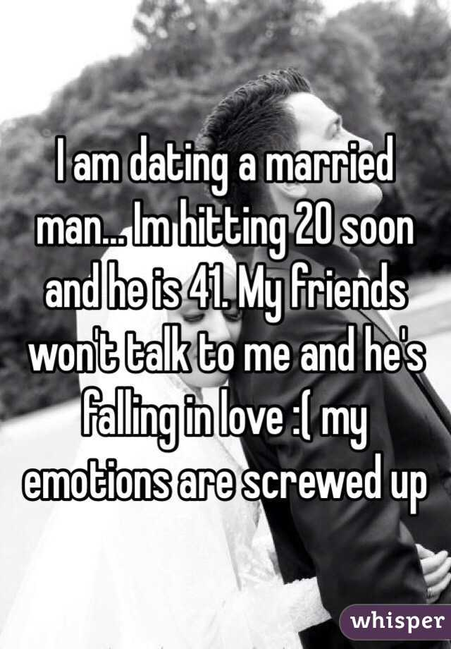 dating married guy