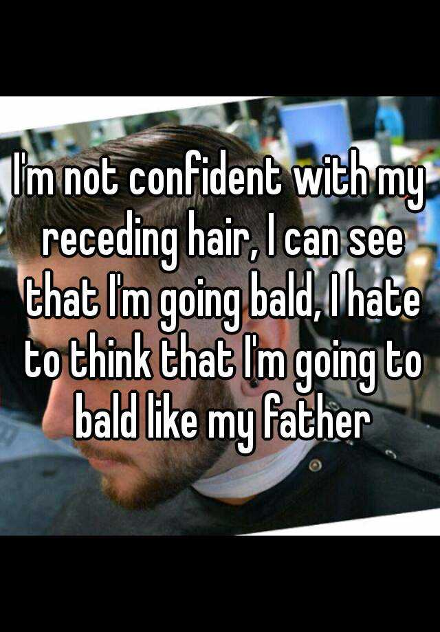 Guys Share Why They Re Self Conscious About Their Hair Askmen