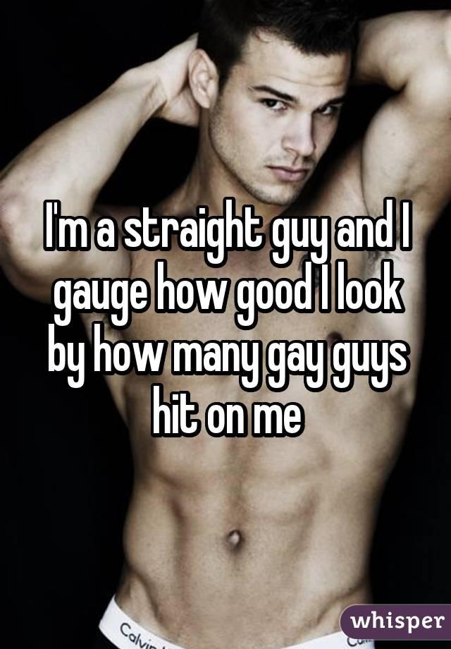 Straight dude enjoys the gay treat