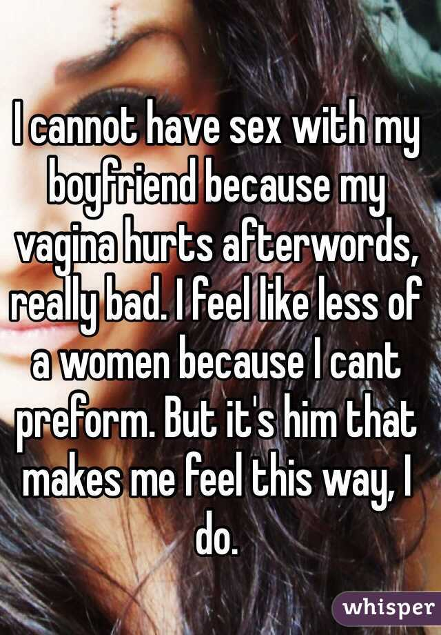 Cannot Have Sex 29