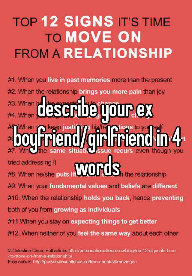 Dating your ex husband in Australia