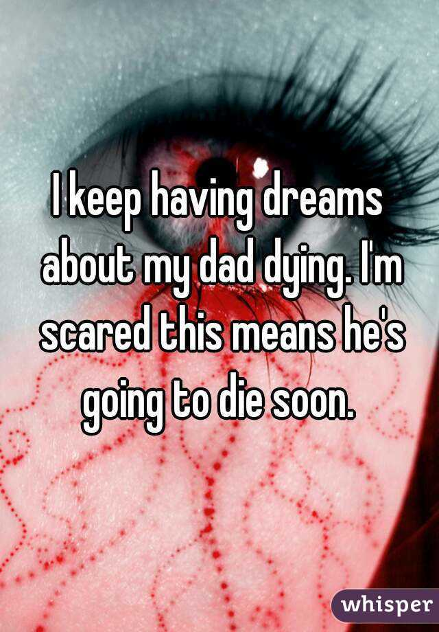 Why are people scared of dying