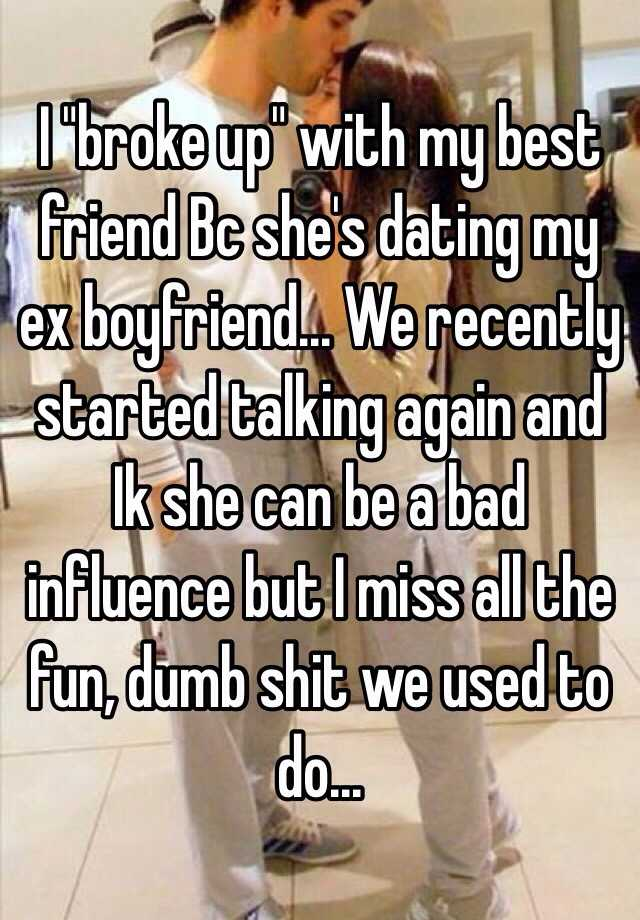 My friend started dating the guy i like