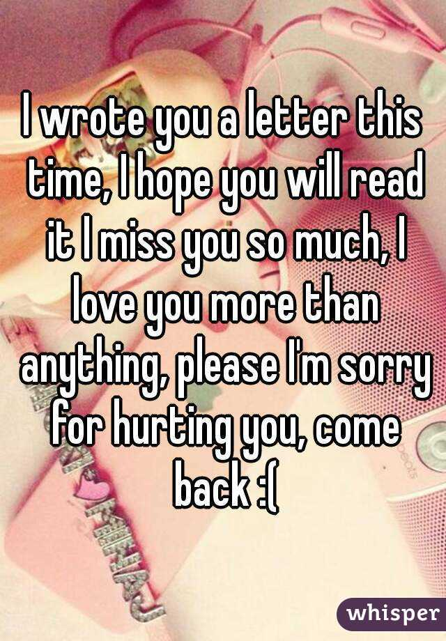 Im Sorry Letters | Gplusnick  Im Sorry Letters | Gplusnick