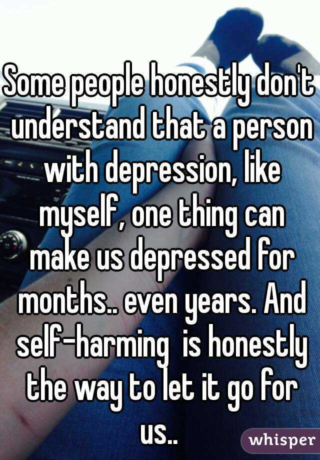 Depressed and dont understand why?