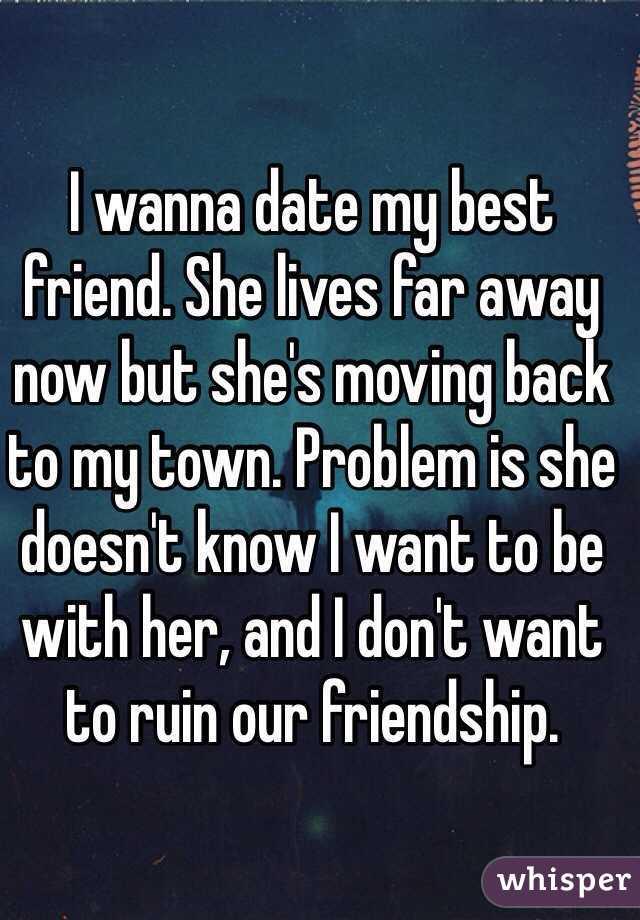 dating someone moving away