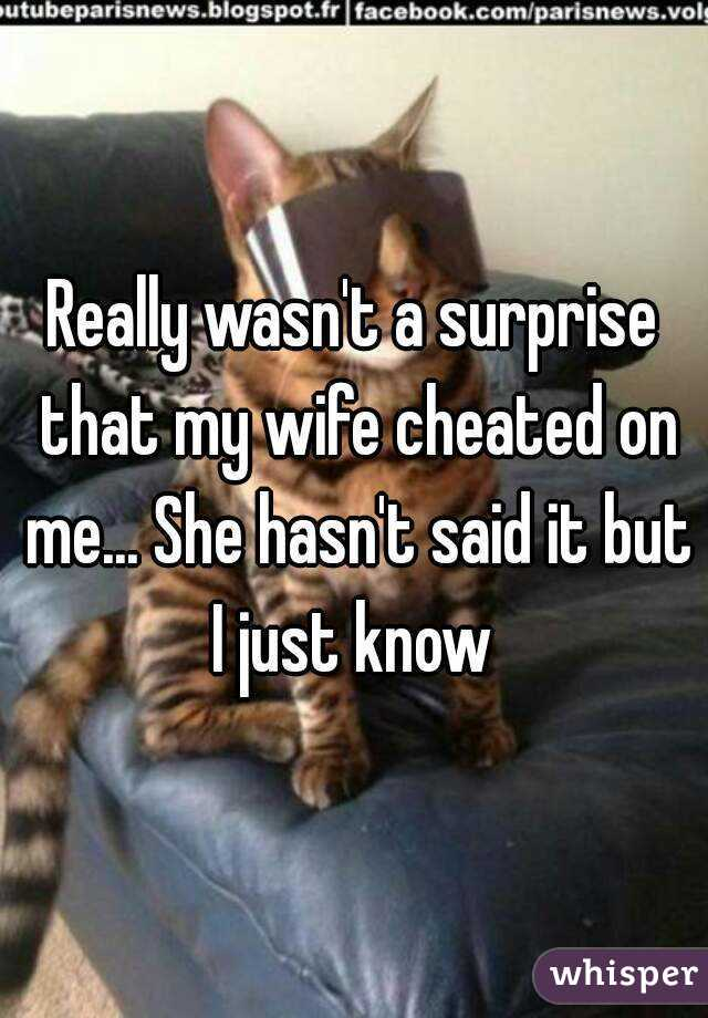 Wife cheated on me video