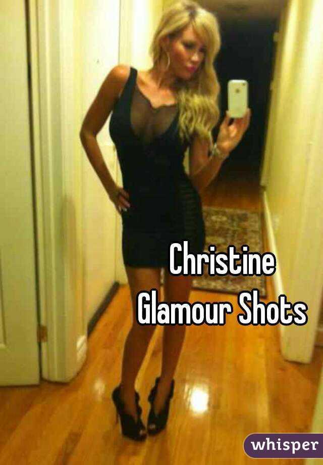 Christine Glamour Shots