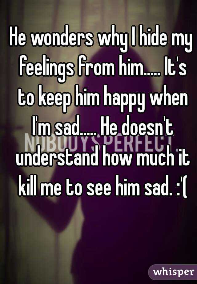 what my feelings for him are I'm in love with my therapist now what but while telling your therapist about your feelings for him or her can seem unnerving, you need to do so to progress.