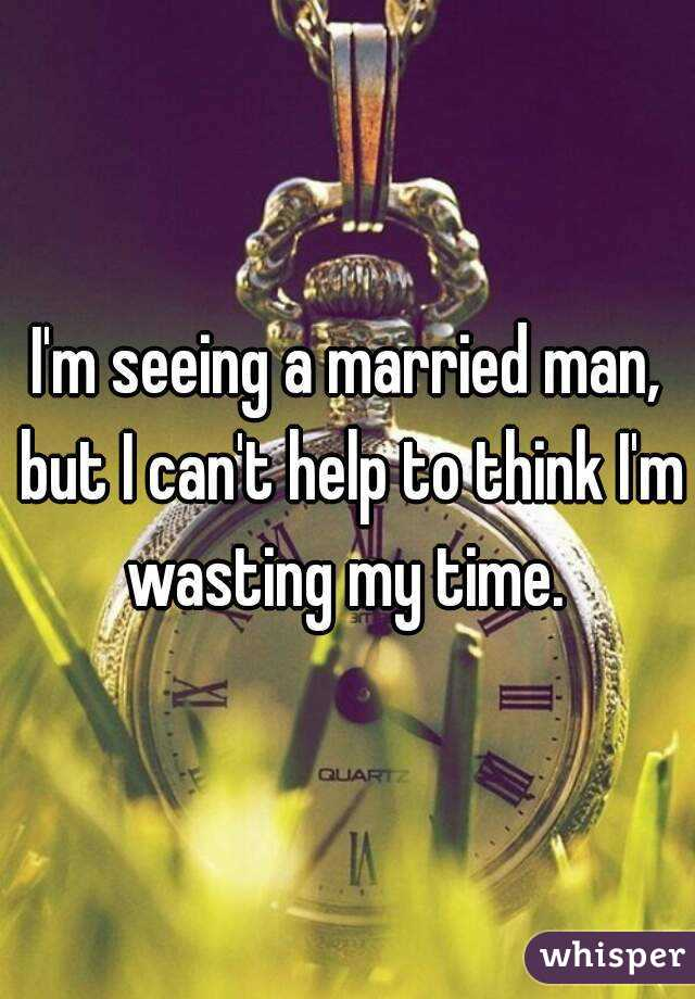 im dating a married man help What do you do when you have a crush on a married man please help in this situation i am the married man connection with a married man, and i feel like i'm.