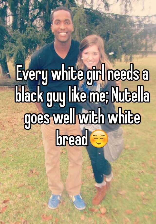 every black man needs a snowbunny
