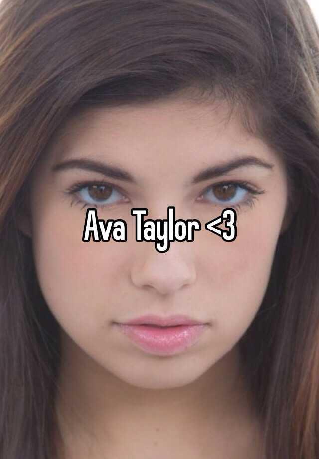 Ava Taylor Nude Photos 16