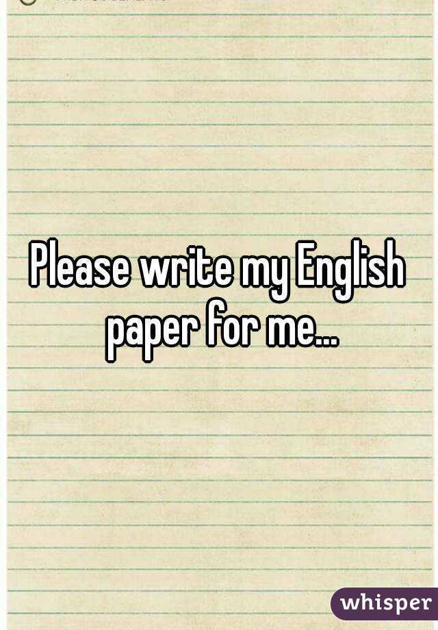 write my english paper write my english paper