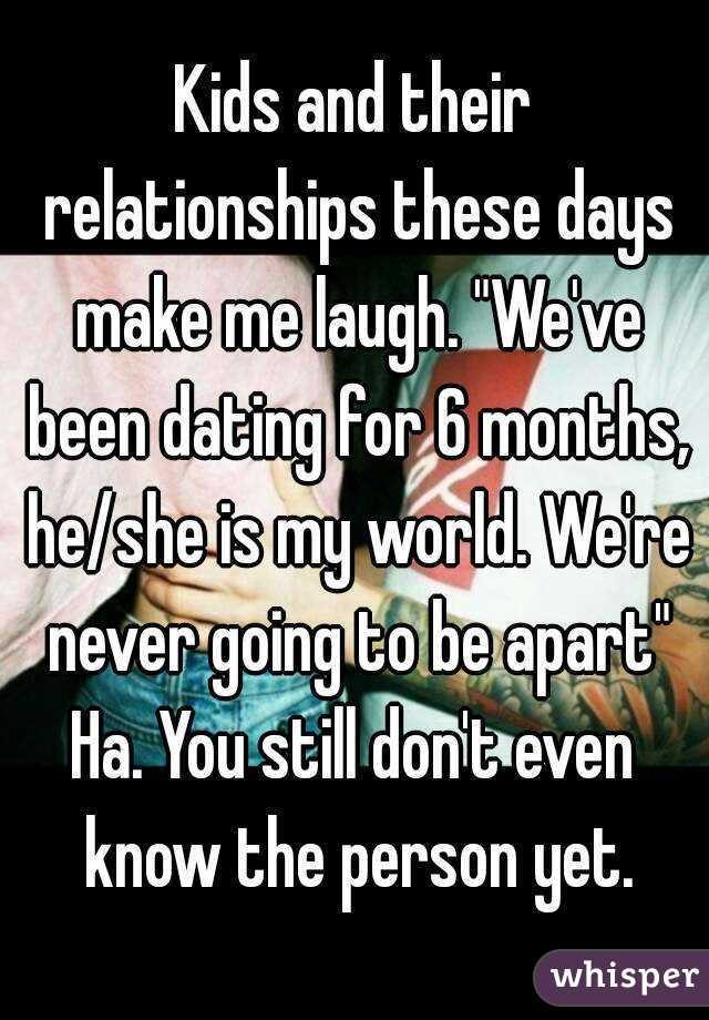 Dating for 8 months not a relationship