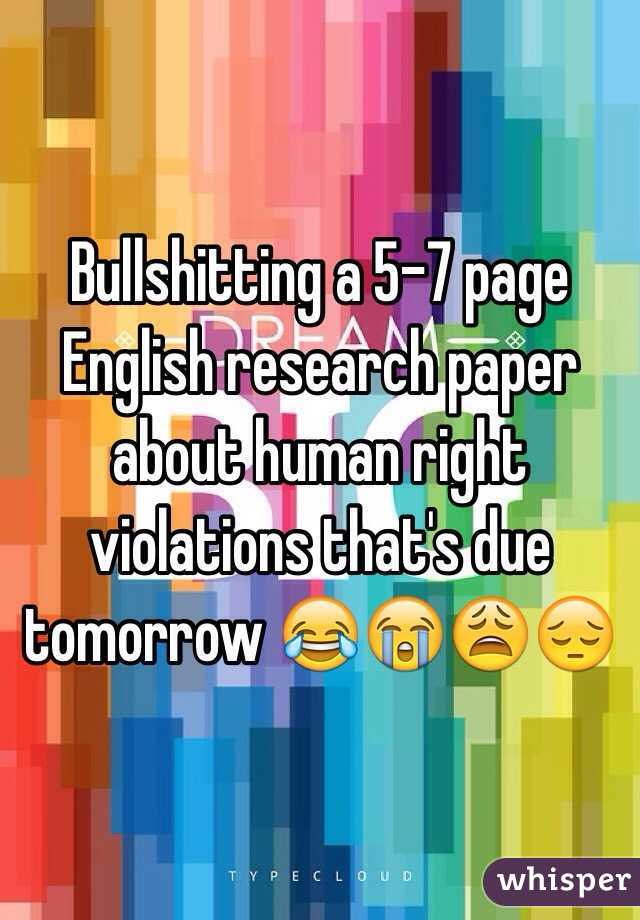 Abnormal psychology research paper topics