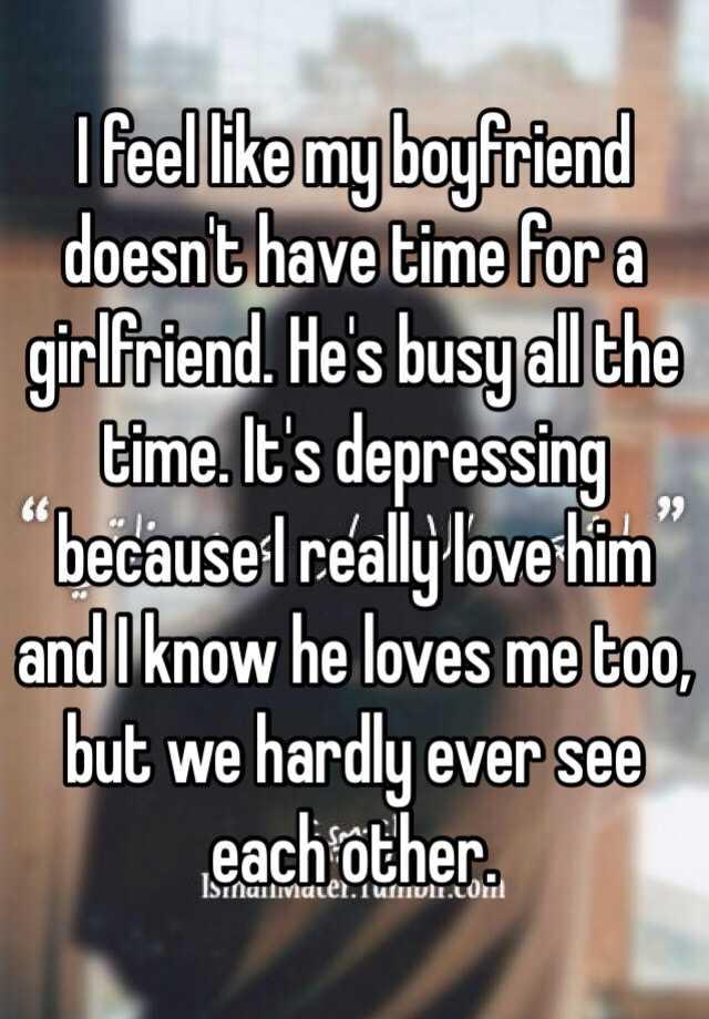he has a girlfriend but does he like me