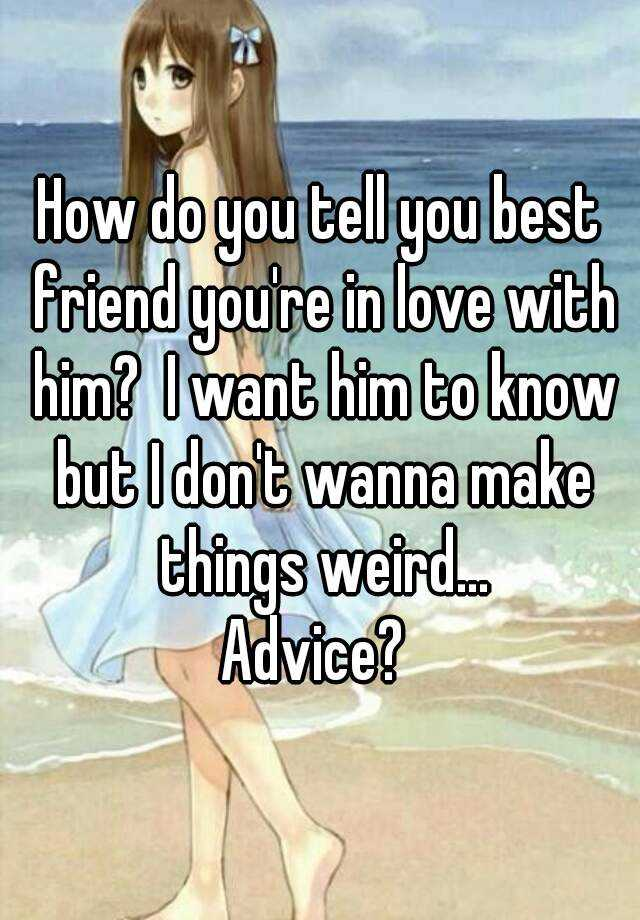 how to tell if your in love with him