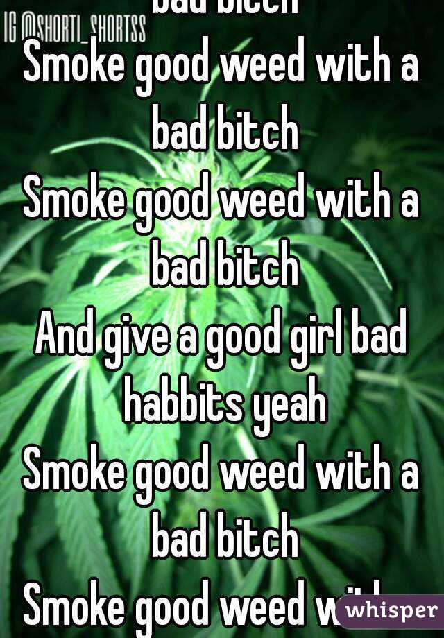 Is weed good or bad?
