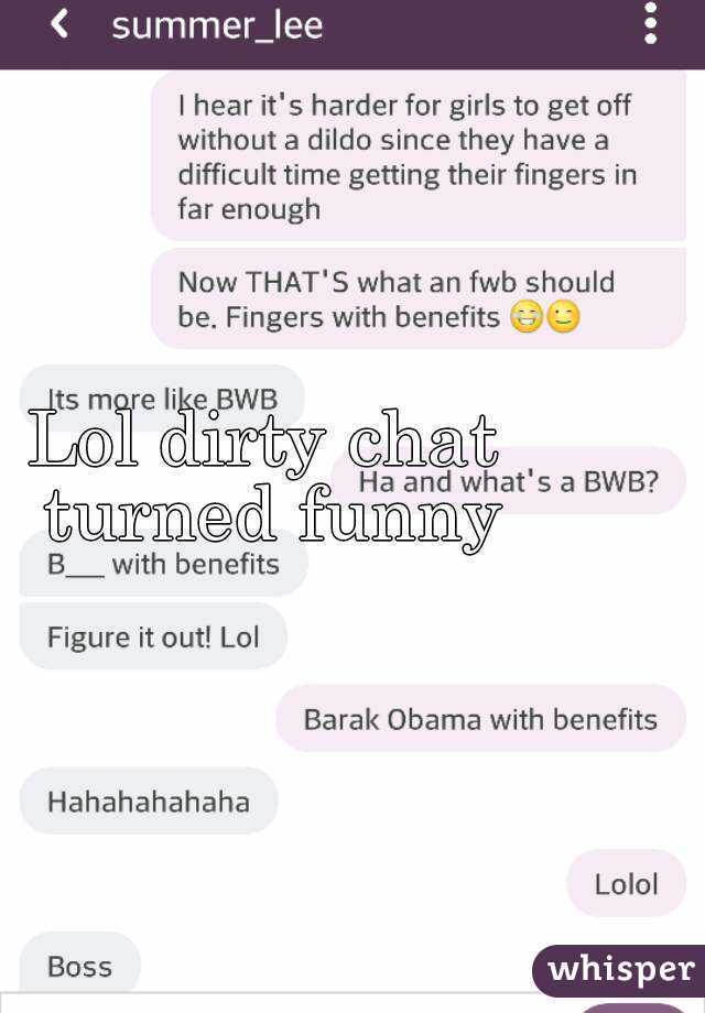 Dirty talk chat room