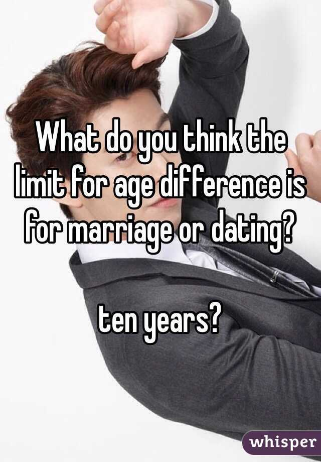 What Do You Think Is An Appropriate Age Difference In Dating And Marriage 1