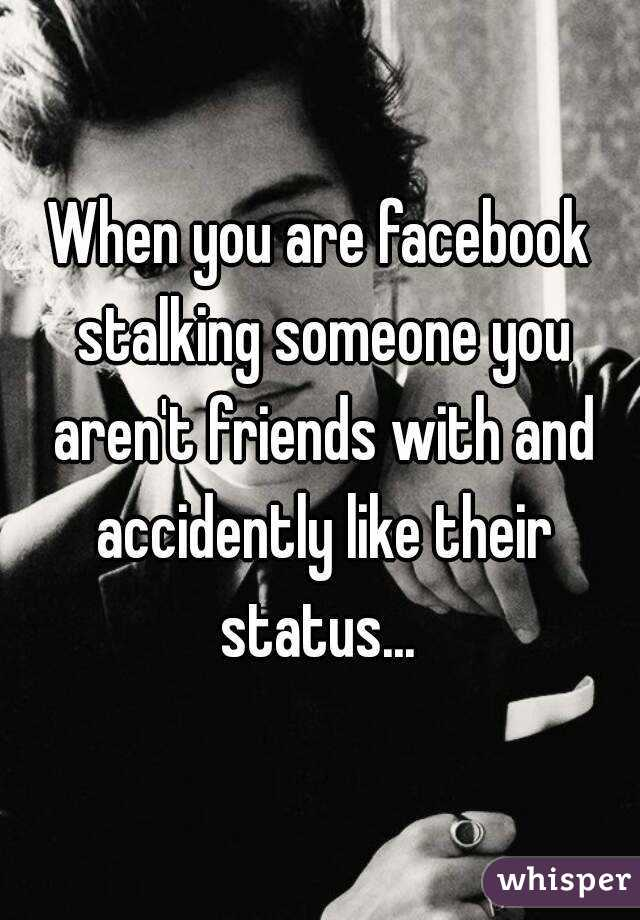 When Are You Stalking Someone When You Are Facebook Stalking
