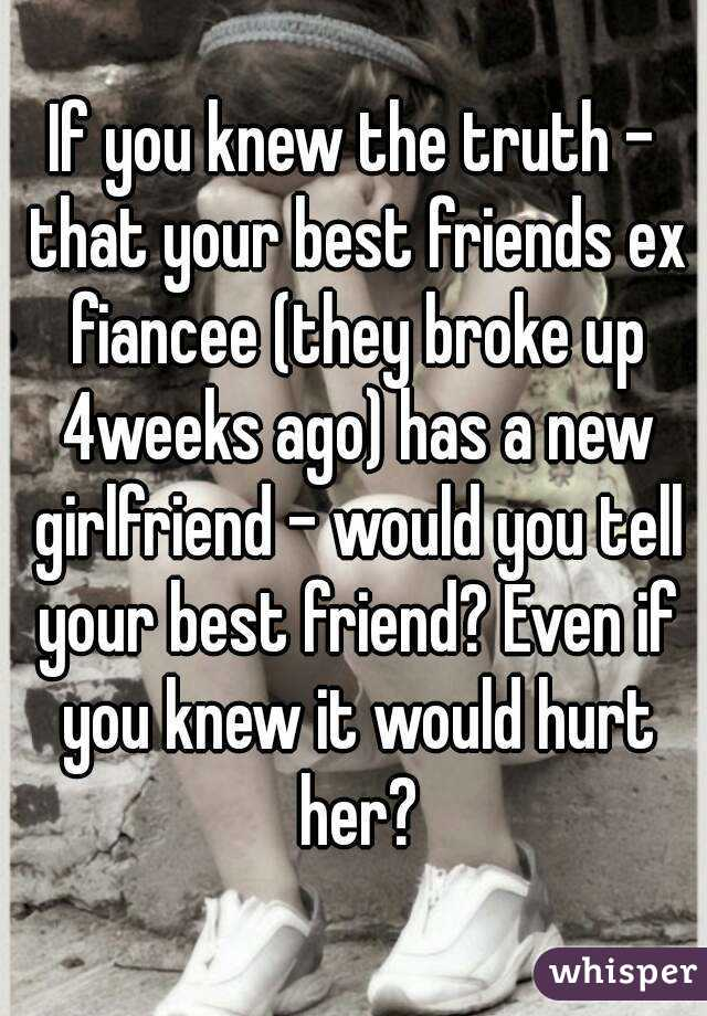 how to tell your best friend your dating her ex 5 ways to deal when your ex is dating when i see an ex is dating someone new thought — until i saw comments from her friends like he's.