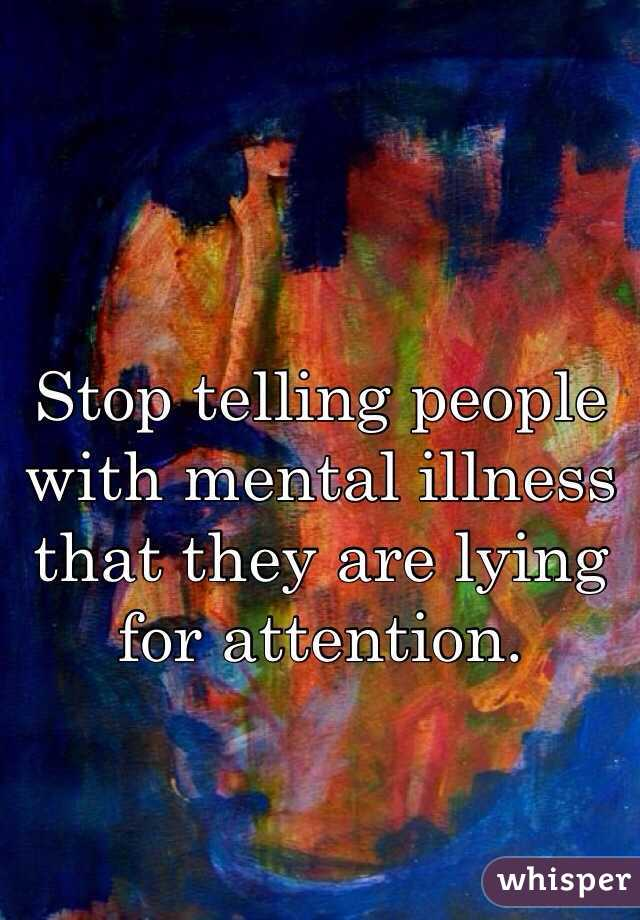 mentally ill people Mental illness is the term mental health plays a major role in people's the existing model for understanding mental health and mental disorders.