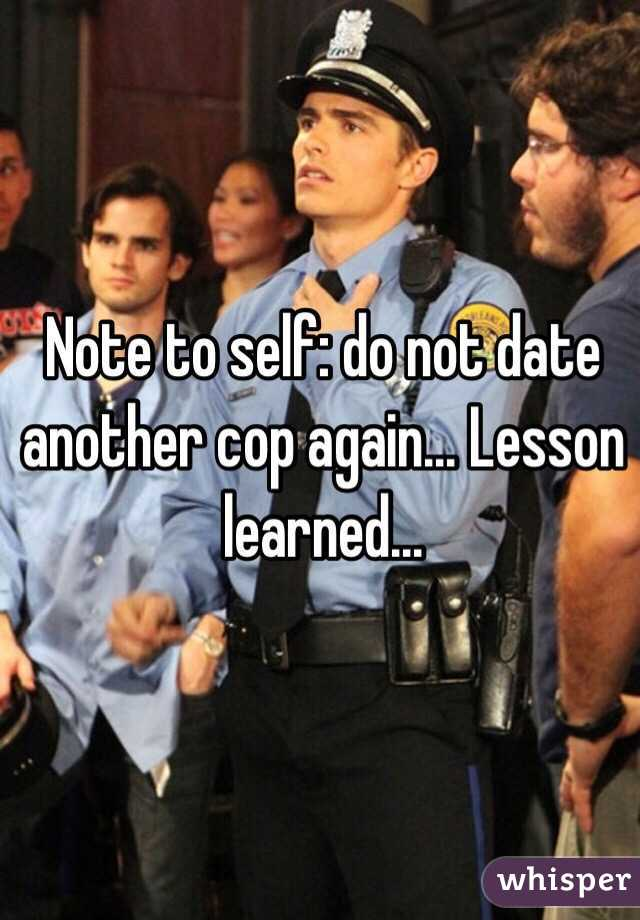 cop dating another cop