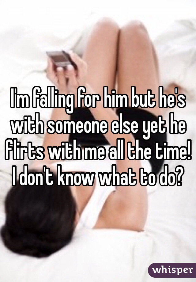 Signs He's Flirting With Someone Else 1