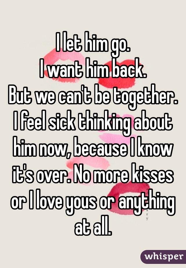 Let Him go i Let Him go i Want Him Back