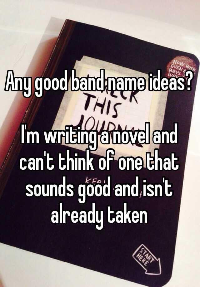 good hardcore band names