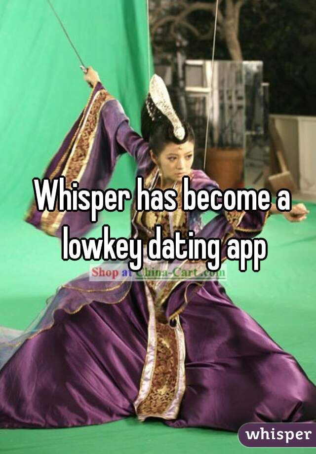 whisper dating app But whisper refuses to race into the graveyard like fellow anonymous social apps  secret and yik yak a source told techcrunch that whisper.