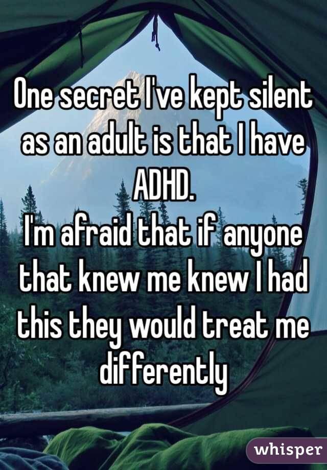 One secret I
